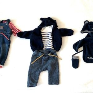 Baby Boy Set of Clothes - French Brands